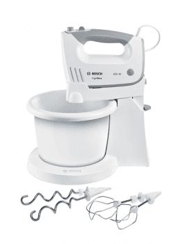 Batidora de mano Bosch para repostería MFQ36460   450W    Blanca   Incluye varillas y garfios amasadores - 1