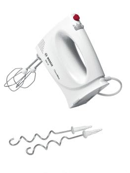 Batidora de mano Bosch MFQ3010 para repostería | 350W | Blanco | 4 velocidades + turbo