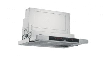 Campana Telescópica Bosch DFS067K51 Inoxidable, de 60 cm, con 5 niveles de extracción a 392 m³/h máx. | Motor EcoSilence Clase A - 2