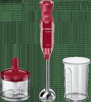 Batidora de mano Bosch MSM67120R | Rojo | ErgoMixx | 800 W | Stock