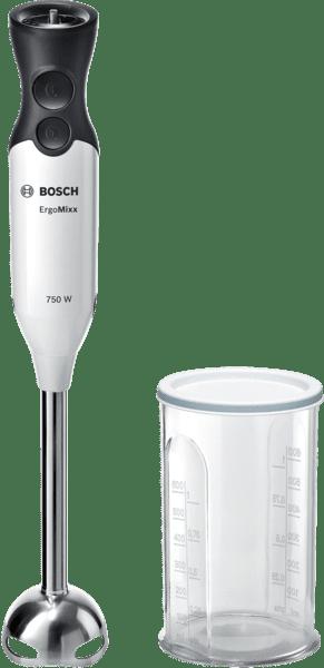 Batidora de mano Bosch MSM67110W | ErgoMixx | 750 W | Blanco + Antracita -