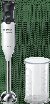 Batidora de mano Bosch MSM67110W | ErgoMixx | 750 W | Blanco + Antracita
