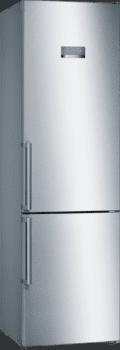 Frigorífico Combi Bosch KGN397IEQ Inoxidable antihuellas de 203 x 60 cm con tecnología No Frost | Clase E