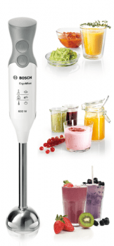 Batidora de mano Bosch MSM66110   ErgoMixx   600W   Blanco - 5