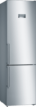 Frigorífico Combi Bosch KGN397LEQ Acero mate antihuellas de 203 x 60 cm con tecnología No Frost | Clase E