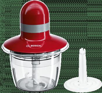 Picadora de Bosch MMR08R2 | Rojo | 400 W | Recipiente de 0,8L