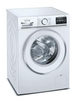 Lavadora Siemens WM14VEH0ES Blanca, de 9 Kg a 1400 rpm con autodosificación de detergente i-Dos y conexión WiFi Home Connect | Motor iQdrive Clase A