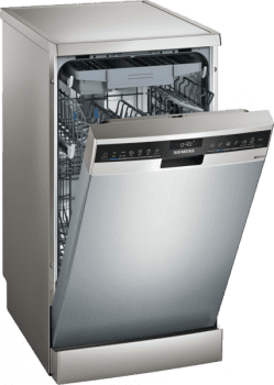 Lavavajillas Siemens SR23EI28ME inoxidable de 45 cm, para 10 servicios, con 3ª bandeja cubiertos varioDrawer, WiFi Home Connect   Clase D