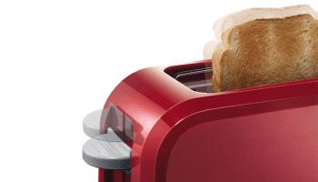 Tostador largo Bosch TAT3A004   CompactClass   1 rebanada   Rojo - 5