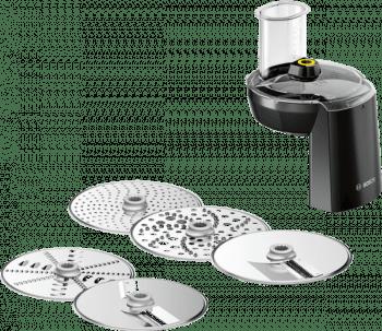 Trituradora con 5 discos para alimentos Bosch MUZ9VL1 | Accesorio Set VeggieLove