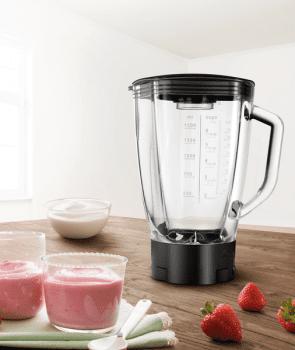 Accesorio jarra de cristal Bosch MUZ9MX1 | Ideal para batidos, picar hielo o purés - 3