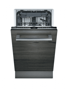 Lavavajillas Siemens SR63EX28ME Integrable, de 45 cm, para 10 servicios, con 3ª bandeja para cubiertos varioDrawer, WiFi Home Connect | Clase D