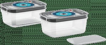Recipientes para envasar al vacío Bosch MSZV0FC2 | Compatible con la gama Batidoras VitaMaxx