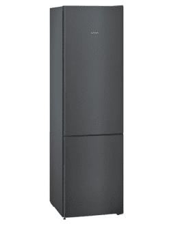 Frigorífico Combi Siemens KG39E8XBA en Acero Inoxidable Negro, de 201 x 60 cm con Low Frost | Clase B
