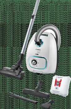Aspirador con bolsa Bosch BGLS4HYG2 | ProHygienic | Serie 4 | Blanco