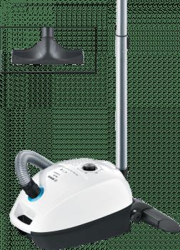 Aspirador con bolsa Bosch BGL3HYG | GL-30 ProHygienic | Tecnología QuattroPower | Blanco