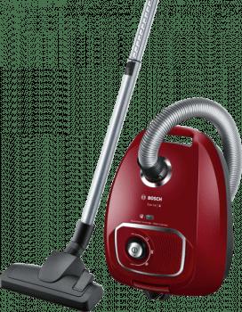 Aspirador con bolsa Bosch BGLS4X201 | Rojo | Serie 4 | Sistema PowerProtect