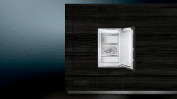 Congelador Siemens GI21VAFE0 Integrable, de  87.4 x 55.8 cm, con 3 cajones transparentes, descongelación Low Frost | Clase E - 2