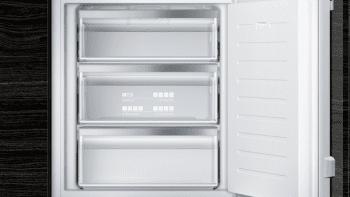 Congelador Siemens GI11VAFE0 Integrable, de  71.2 x 55.8 cm, con 3 cajones transparentes, descongelación Low Frost | Clase E - 4