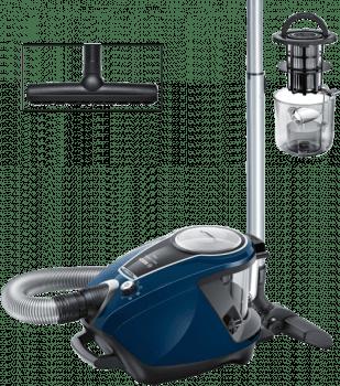 Aspirador sin bolsa Bpsch BGS7RCL | ProSilence | Azul | Serie 8 | SmartSensor