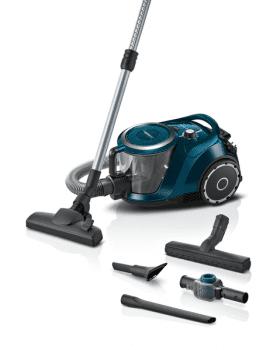 Aspirador sin bolsa Bosch BGS41FAM | ProFamily | Azul | Serie 6 | filtro EasyClean System