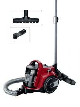 Aspirador sin bolsa Bosch BGC05AAA2 | Rojo | Serie 2 | Ultra-compacto