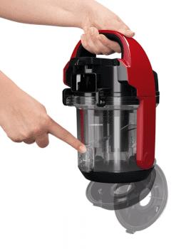 Aspirador sin bolsa Bosch BGC05AAA2 | Rojo | Serie 2 | Ultra-compacto - 6