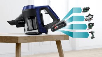 Aspiradora sin cable Bosch BBS611MAT | Unlimited | Azul | Serie 6 - 2