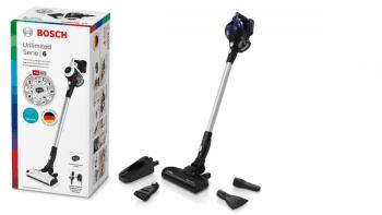 Aspiradora sin cable Bosch BBS611MAT | Unlimited | Azul | Serie 6 - 6