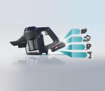 Aspiradora sin cable Bosch BBS611MAT | Unlimited | Azul | Serie 6 - 10
