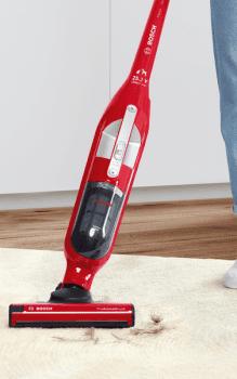 Aspiradora sin cable Bosch BBH3ZOO25 | Flexxo 25.2V| Rojo | Serie 4 - 16
