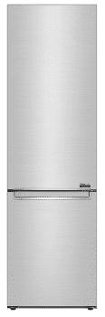 Frigorífico Combi LG GBB92STBAP en Acero antihuellas, de 203 x 59.5 cm, con capacidad de 419 L, conexión WiFi ThinQ | Clase F | Instalación Gratis