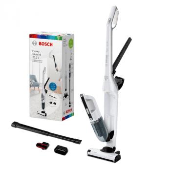 Aspirador sin cable Bosch BBH32551 | Flexxo 25.2V | Blanco | Serie 4