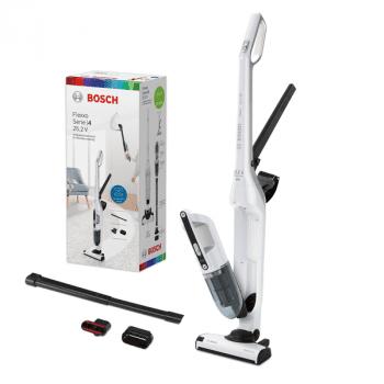 Aspirador sin cable Bosch BBH32551 | Flexxo 25.2V | Blanco | Serie 4 - 7