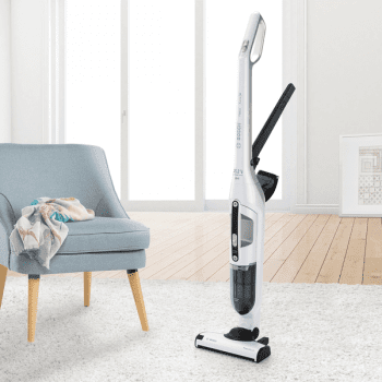 Aspirador sin cable Bosch BBH32551 | Flexxo 25.2V | Blanco | Serie 4 - 8