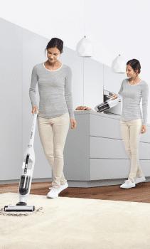 Aspirador sin cable Bosch BBH32551 | Flexxo 25.2V | Blanco | Serie 4 - 12