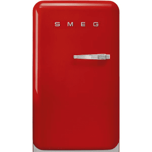 Frigorífico Monopuerta Retro Rojo Smeg FAB10LOR5 | Apertura Izquierda | Clase E | Envío + Instalación + Retirada Gratis