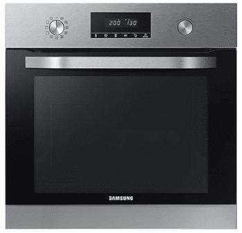 Horno Pirolítico Samsung NV68R3370RS/EC   Steam clean   Dual fan   Autocook con 20 recetas disponibles   68L - 1