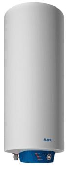 Termo Eléctrico Fleck Nilo 50 Litros Mutiposición Slim | Resistencias en Seco | Para 2 Usuarios 50L
