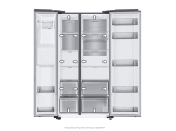 Frigorífico Americano Samsung RS68A8842B1/EF Grafito |SpaceMax | No Frost | Dispensador Agua + Hielo | Clase D - 7