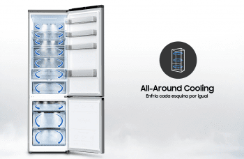 Frigorífico Combi Samsung RB34T600DWW Blanco | 186cmx59.5cm | SpaceMax | All-Around Cooling | Clase D - 5