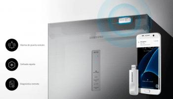 Congelador Samsung RZ32M7535B1/ES Grafito | 186cmx59.5cm | 323 Litros | SpaceMax | Metal Cooling | Clase F - 5