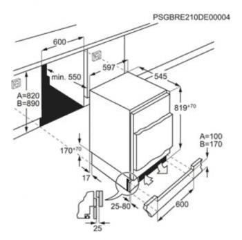 Frigorífico Combi Integrable AEG SFB682E1AF bajo encimera | 81.9x59.6cm | Serie 3000 | Clase E - 2