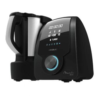 Robot de Cocina Cecotec Mambo 9590 | Bascula integrada | 30 funciones | Recetario | referencia 4150