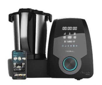 Robot de Cocina Cecotec Mambo 10090  | APP | Bascula integrada | 30 funciones | Recetario | referencia 4133