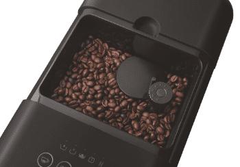 Cafetera Negra Smeg BCC01BLMEU 50'Style con Molinillo Integrado  1 Tipo de Té & 7 de Café   Sistema Anti-Goteo   100% Automática - 2