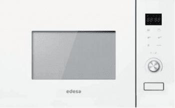 Microondas integrable Edesa EMW-2020-IG WH | 20 litros | 800W + grill 1000W | Funciones microondas, grill y micro | 382 x 595 x 300 mm