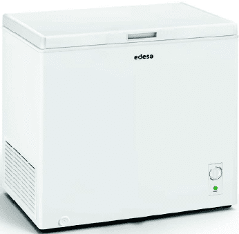 Congelador Horizontal Edesa EZH-2011 | 81.6x85x55cm | Blanco | Clase F