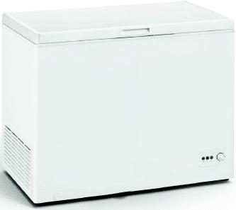Congelador Horizontal Edesa EZH-3011 | 111.5x85x67cm | Blanco | Clase F - 1