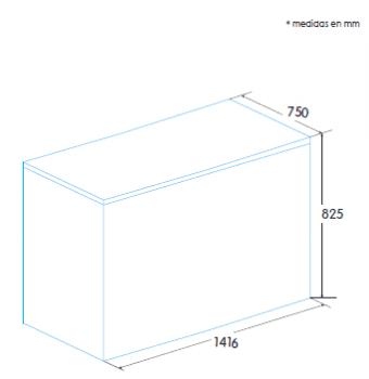 Congelador Horizontal Edesa EZH-4211   141.6x82.5x75cm   Blanco   Clase F - 2
